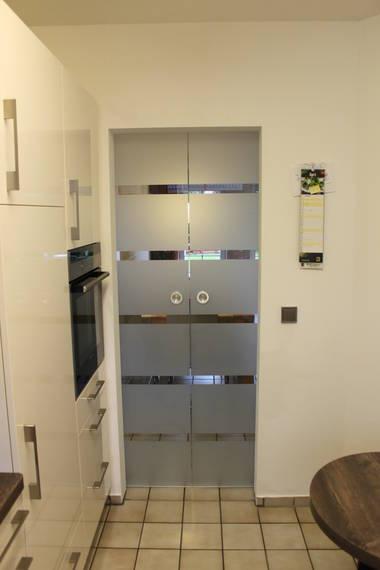 Doppelschiebetür Glas doppelschiebetür aus glas - dieter hoefer gmbh