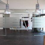 Doppelflügelige Dormotion Schiebetür - Agile - Folienstreifen