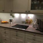 Küchenrückwand mit Fotodruck Olivenzweig und Öl