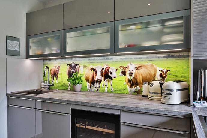 Küchenrückwand aus Glas – Design und Hygiene im Fokus