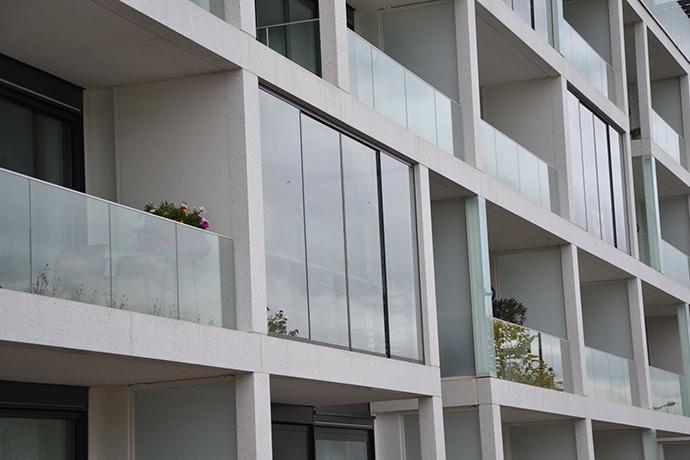Balkonschiebewand